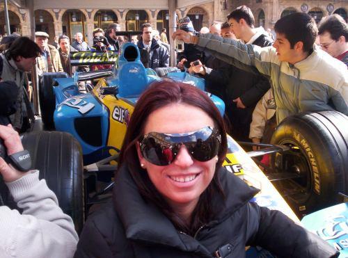 Patricia y la F1