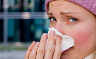 Las inhalaciones de aromaterapia ayudan a combatir la congestión nasal.
