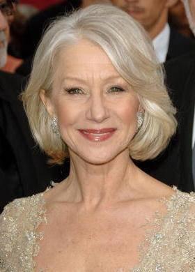 La actriz Helen Mirres, un ejemplo de rostro maduro bien cuidado.