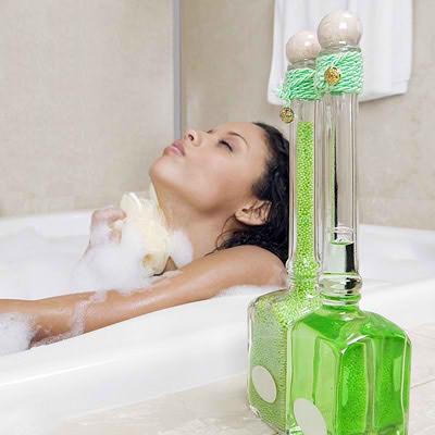 Un buen baño de aromaterapia ayuda a mejorar el cuerpo y el espíritu.