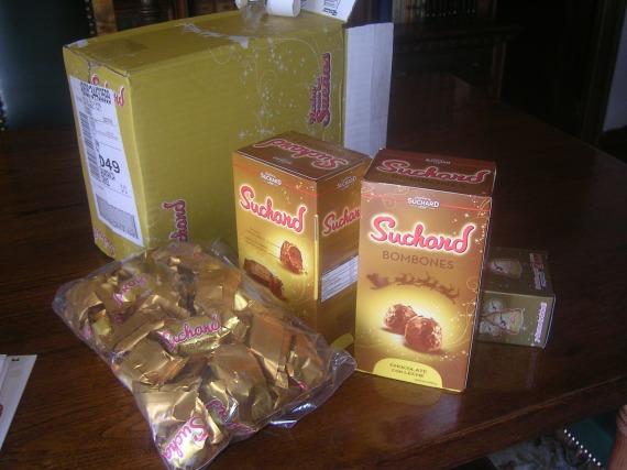 Los bombones Suchard, un dulce placer para cualquier paladar.